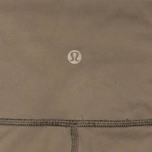 lululemon athletica Pants - Lululemon slate grey wunder under crop Pants 6